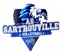 Logo AS Sartrouville Volley-ball 3