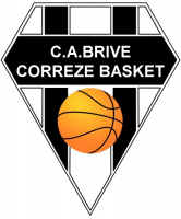 Logo CA Brive Correze Section Basket