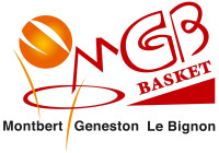 Logo Montbert Geneston le Bignon Basket 3