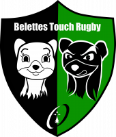 Logo Belettes Touch Rugby (Nantes)