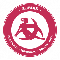 Logo UGS Bordeaux Merignac Volley