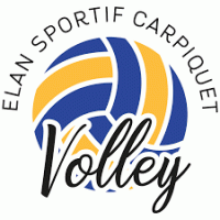 Logo Elan Sportif de Carpiquet de Volley